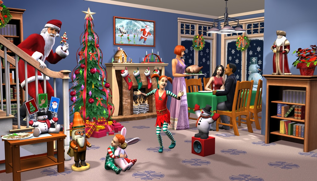 Decoration noel sims 3