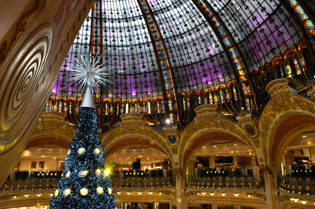 Decoration noel printemps haussmann 2015